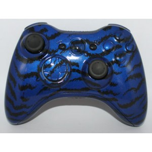 Blue Tiger Xbox 360 Modded Controller