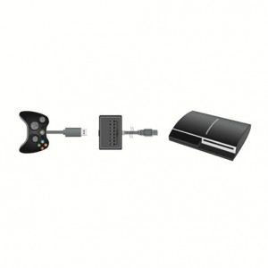 XBOX 360 Controller Adapter for PS3 , Connects your wired XBOX 360 controller to your PS3 console