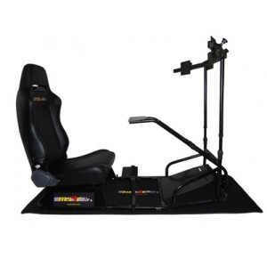 Aventador Home Racing Simulator with three Monitors Bracket