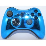 Blue and Black Chrome  Modded Controlle  w/Rapid 11 mods