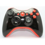 Black and Orange Chrome  Modded Controlle  w/Rapid 11 mods