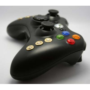 Bullet Black Modded Controller w/Rapid Fire Halloween offer!!!