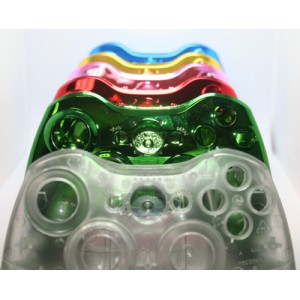 Back Part only Controller Shells (Case) for Xbox 360 Controllers, Select Your color