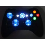 Shake Lighted  Black  Modded Controlle w/11 rapid fire, Halloween Offer!!!!!